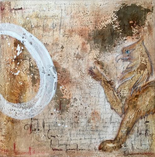 Katharina Frei-Boos, mira toscane #11-19, Abstraktes, Abstrakter Expressionismus