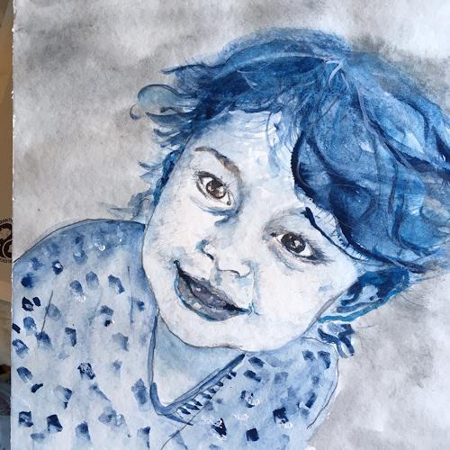 Katharina Frei-Boos, Kind, Menschen, expressiver Realismus