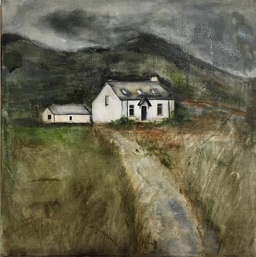 Katharina Frei-Boos, Dreaming of, Landschaft, expressiver Realismus