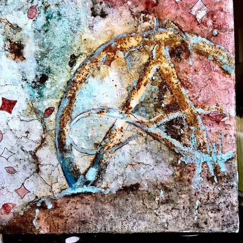 Katharina Frei-Boos, Seeds, Abstraktes, Abstrakter Expressionismus