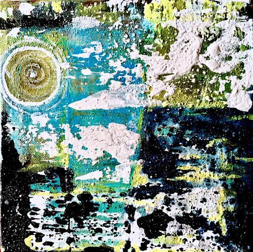 Katharina Frei-Boos, O.T., Abstraktes, Landschaft, Abstrakte Kunst