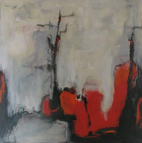 Ursula Glatz, Über den Dächern, Abstraktes, Abstrakte Kunst