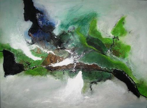 Ursula Glatz, Grüne Meile, Abstraktes, Abstrakte Kunst