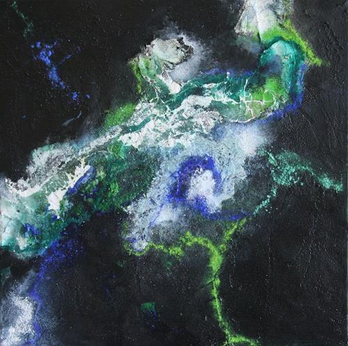 Ursula Glatz, Kosmos, Abstraktes, Abstrakte Kunst
