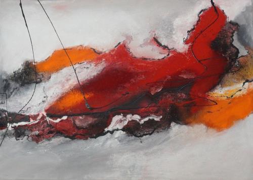 Ursula Glatz, Teuflisch, Abstraktes, Abstrakte Kunst