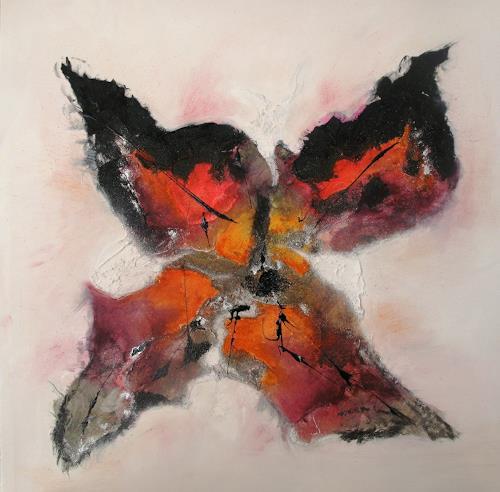 Ursula Glatz, Papillon, Abstraktes, Abstrakte Kunst