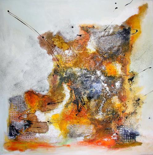 Ursula Glatz, Explosion, Abstraktes, Abstrakte Kunst
