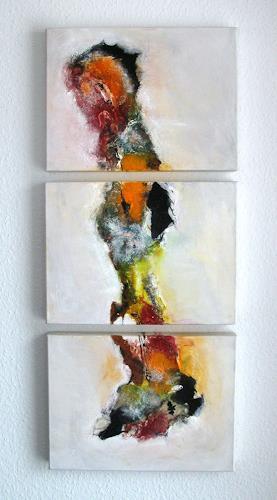 Ursula Glatz, Der Einsame, Abstraktes, Abstrakte Kunst