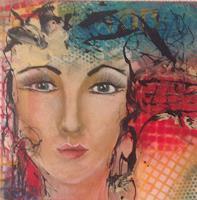 Gaby-Derungs-Menschen-Frau-Moderne-Abstrakte-Kunst