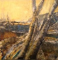Gaby-Derungs-Landschaft-Landschaft-Moderne-Abstrakte-Kunst