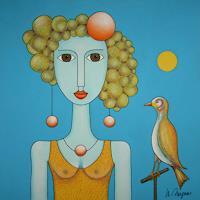 W. Magvas, Serie Extravagante Damen