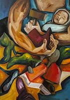 Anna-Theresa-Heppke-Arbeitswelt-Gefuehle-Depression-Moderne-Expressionismus-Neo-Expressionismus