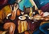 A. Heppke, Das späte Essen / The late Dinner