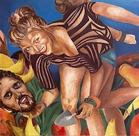 Anna-Theresa-Heppke-Gefuehle-Liebe-Situationen-Gegenwartskunst-Neo-Expressionismus