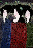 AlesyavonMeer, Three Sisters
