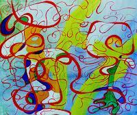 ILSE-RUBY-M-Abstraktes-Fantasie-Moderne-Moderne