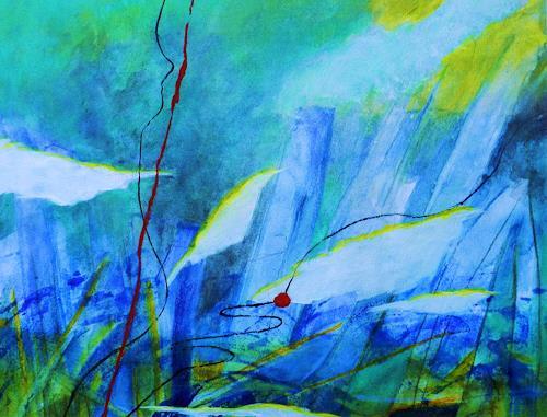 ILSE RUBY-M., In einer anderen Welt, Abstraktes, Landschaft, Moderne