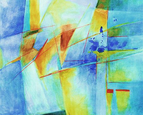 ILSE RUBY-M., o.T., Abstraktes, Abstraktes, Abstrakte Kunst