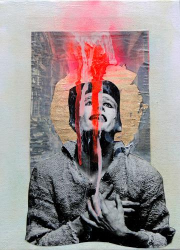 Die Welt der Lumi Divinior by Gunilla Göttlicher, Clown im Licht, Glauben, Zirkus, Surrealismus, Abstrakter Expressionismus