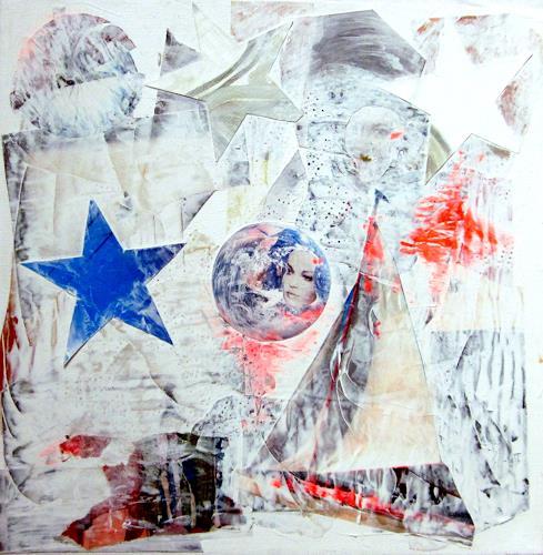 Die Welt der Lumi Divinior by Gunilla Göttlicher, Sternenblühen, Weltraum, Poesie, Surrealismus