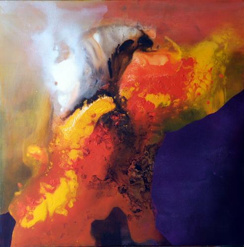 Maria und Wolfgang Liedermann, Aufkeimende Hoffnung, Abstraktes, Abstrakter Expressionismus