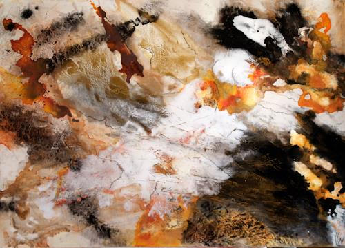 Maria und Wolfgang Liedermann, Der letzte Leopard, Abstraktes, Abstraktes, Abstrakte Kunst