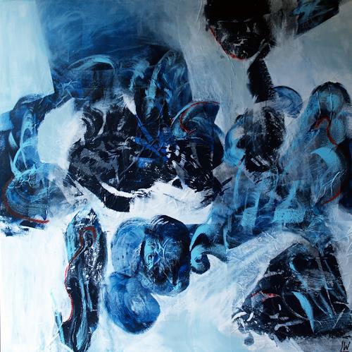 Maria und Wolfgang Liedermann, Waterworld 2, Abstraktes, Romantik, Abstrakte Kunst, Abstrakter Expressionismus