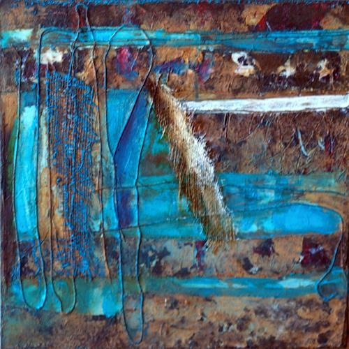 Maria und Wolfgang Liedermann, Casa B2, Abstraktes, Abstrakte Kunst, Abstrakter Expressionismus