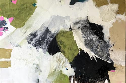 Maria und Wolfgang Liedermann, Grüne Erde, Abstraktes, Gegenwartskunst, Abstrakter Expressionismus