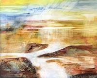 Maria-und-Wolfgang-Liedermann-Abstraktes-Landschaft-Moderne-Abstrakte-Kunst