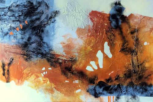 Maria und Wolfgang Liedermann, Orangenland, Abstraktes, Abstrakte Kunst