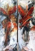 Maria-und-Wolfgang-Liedermann-Abstraktes-Pflanzen-Moderne-Abstrakte-Kunst