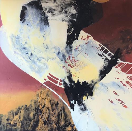 Maria und Wolfgang Liedermann, Erdverbunden, Abstraktes, Abstrakte Kunst, Abstrakter Expressionismus