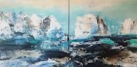 Maria-und-Wolfgang-Liedermann-Landschaft-See-Meer-Abstraktes-Gegenwartskunst-Gegenwartskunst