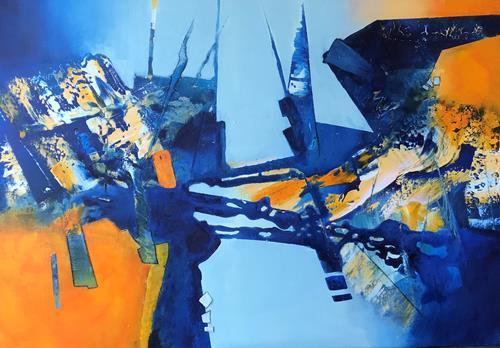 Maria und Wolfgang Liedermann, St. Louis Blues, Abstraktes, Abstrakte Kunst, Abstrakter Expressionismus