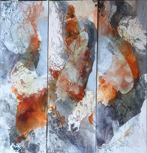 Maria und Wolfgang Liedermann, Bridge over Troubled Water, Abstraktes, Pflanzen, Abstrakte Kunst