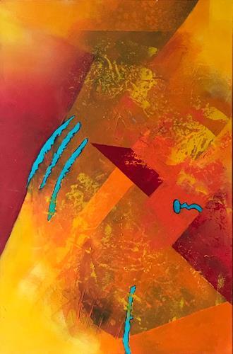 Maria und Wolfgang Liedermann, Wer nur einen Hammer hat, sieht in jedem Problem einen Nagel, Abstraktes, Gegenwartskunst