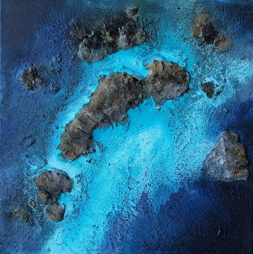 Maria und Wolfgang Liedermann, Caribbean Island, Landschaft: Tropisch, Landschaft: See/Meer, Gegenwartskunst