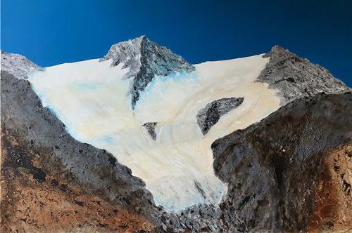 Maria und Wolfgang Liedermann, Plus zehn Grad, Landschaft: Berge, Gegenwartskunst