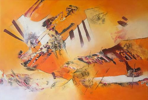 Maria und Wolfgang Liedermann, Glück ist das einzige, das sich verdoppelt, wenn man es teilt, Abstraktes, Gegenwartskunst