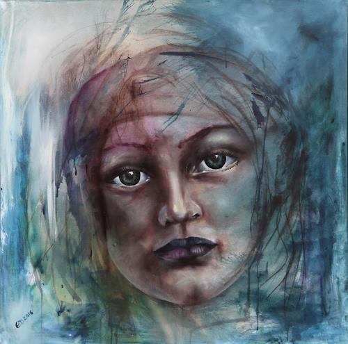 Edeldith, Eva, Menschen, Gefühle, expressiver Realismus, Expressionismus