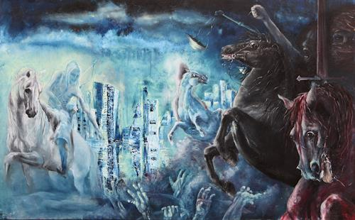 Edeldith, Apokalypse, Mythologie, Krieg, expressiver Realismus
