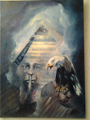 Edeldith, Verrat uns nicht, Mythologie, Fantasie, Symbolismus, Abstrakter Expressionismus