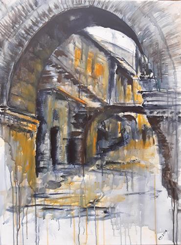 Edeldith, Römische Altstadt, Architektur, Bauten, expressiver Realismus