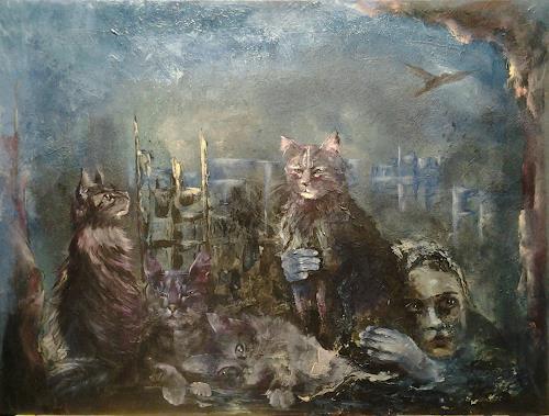 Edeldith, Krieg und Frieden, Krieg, Diverse Gefühle, expressiver Realismus, Abstrakter Expressionismus