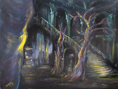 Edeldith, Das Glühen der Zeit, Fantasie, Mythologie, Gegenwartskunst