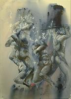 edeldith-Akt-Erotik-Akt-Mann-Krieg-Moderne-expressiver-Realismus