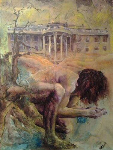 Edeldith, Der tiefe Sand, Menschen, Gesellschaft, Symbolismus, Abstrakter Expressionismus