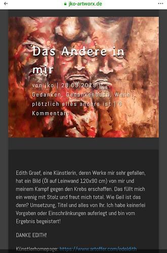 Edeldith, Das andere in mir, Menschen: Porträt, Gefühle: Angst, expressiver Realismus