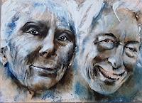 edeldith-Menschen-Portraet-Menschen-Paare-Moderne-expressiver-Realismus